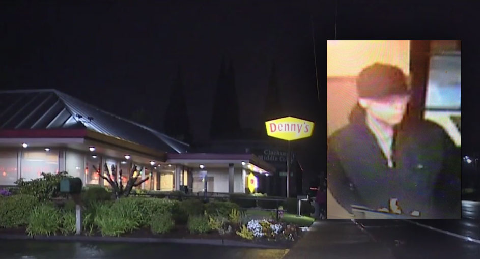 The Clackamas County Sheriff's Office released this photograph of a man they say lit a customer on fire at a Denny's in Happy Valley. (Photo Clackamas County Sheriff's Office).jpg