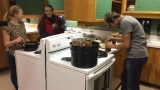 Crow students learn the lost art of food preservation for a cause