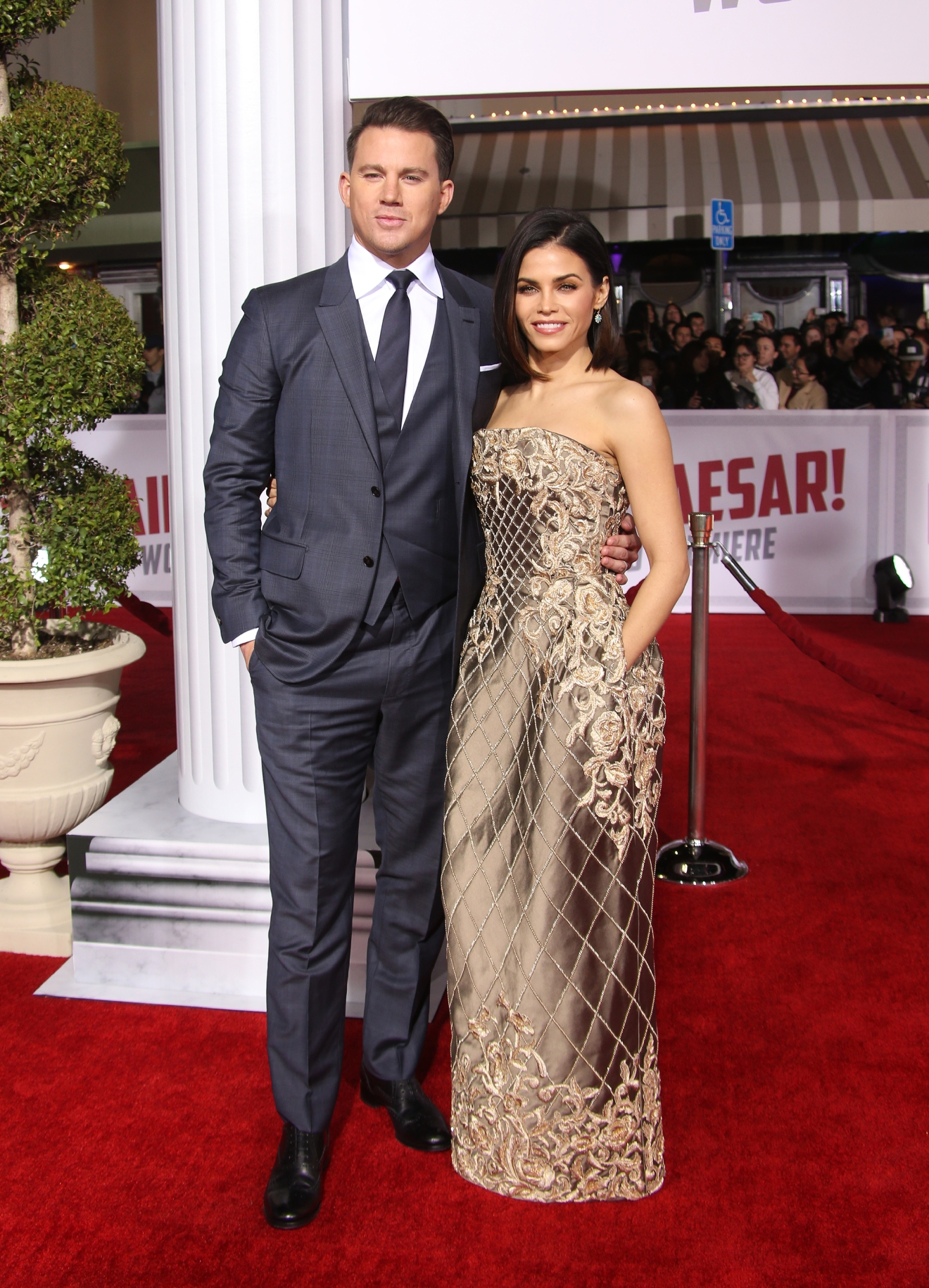 "Premiere Of Universal Pictures' ""Hail, Caesar!""  Featuring: Channing Tatum, Jenna Dewan-Tatum Where: Westwood, California, United States When: 02 Feb 2016 Credit: FayesVision/WENN.com"