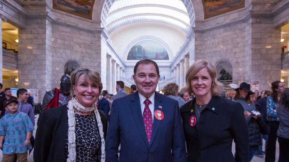 Film Day on the Hill_Vicki Varela_Governor Herbert_Virginia Pearce.jpg
