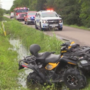 Four wheeler crash in Port Arthur leaves two injured