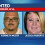 Two people wanted in connection to Parkersburg murder