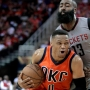 Williams leads Rockets to easy 137-125 win over Thunder