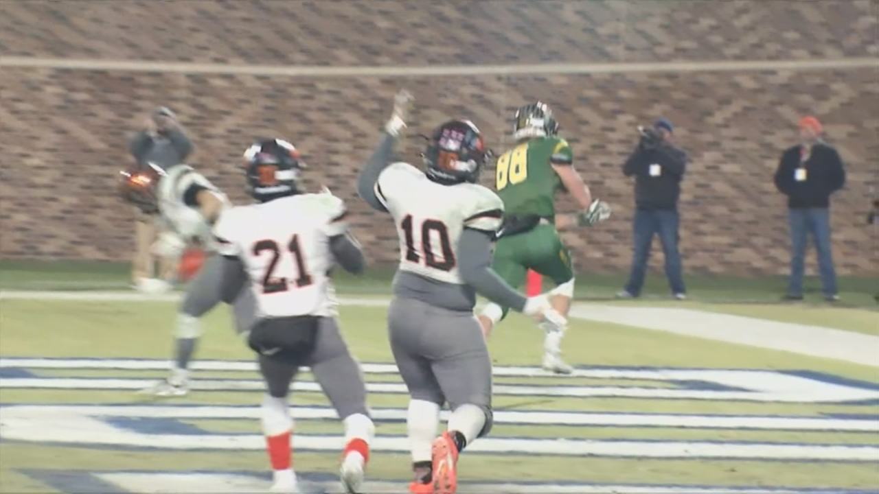 Beyond the Scoreboard: New Hanover beats Reynolds for 3AA state title(Photo credit: WLOS Staff)