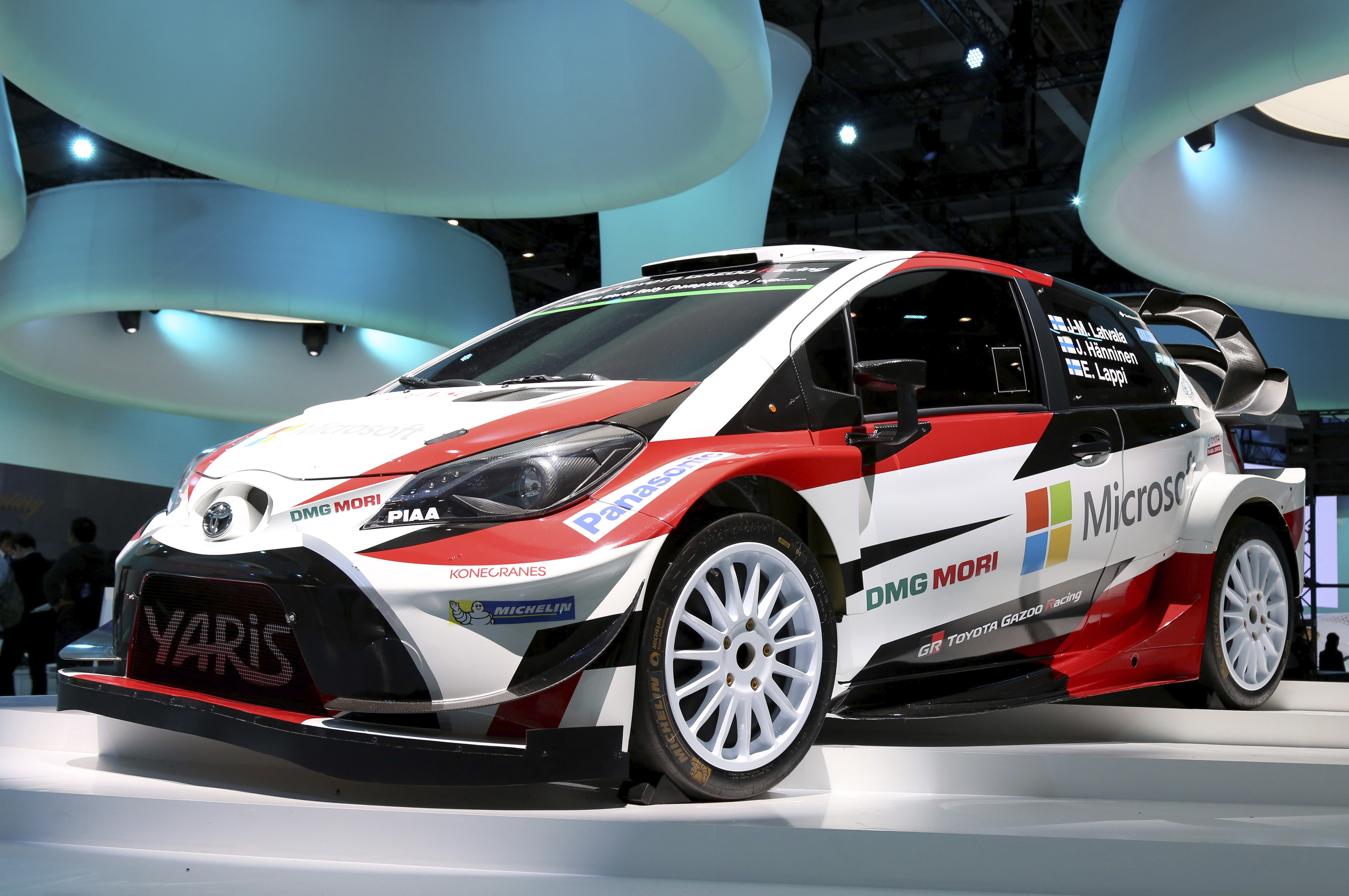 Tokyo Motor Show 2017  Featuring: Toyota Yaris WRC Where: Tokyo, Japan When: 25 Oct 2017 Credit: Yukio Tomita/Future Image/WENN.com  **Not available for publication in Germany**