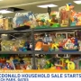 Thousands of items up for grabs at Ronald McDonald Household Sale