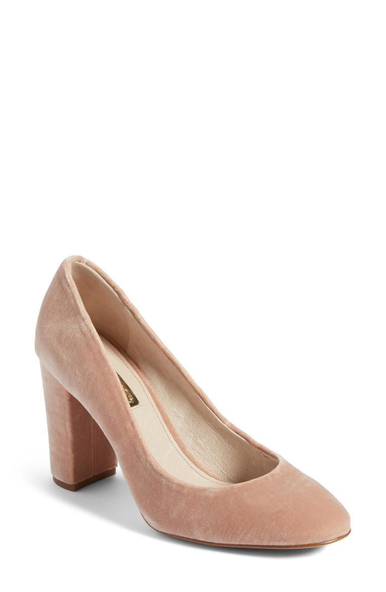 Louise Et Cie_Jianna Stacked Heel Pump - $79.90 (after sale $119.95) (Image: Nordstrom)