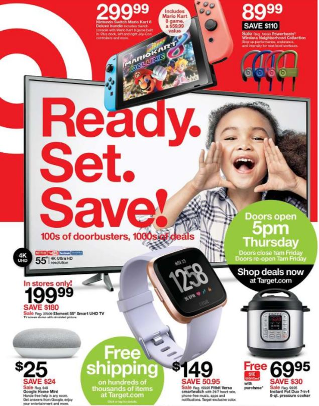 Thanksgiving and Black Friday are just two weeks away but Walmart, Target, Best Buy and other retail stores have released their much anticipated sales ad for Black Friday. (Target){&nbsp;}<p></p>
