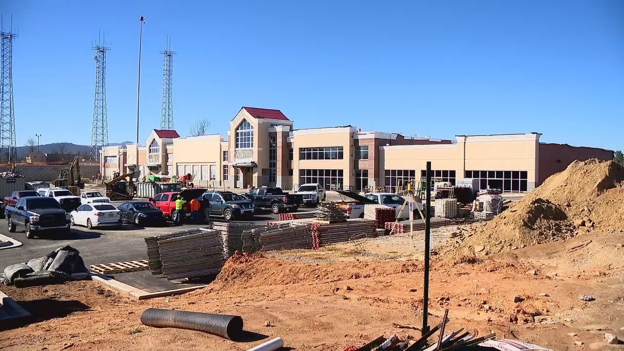 "<p>""When is the new Ingles on Airport Road supposed to open?"" Jeff asked. (Photo credit: WLOS Staff)</p>"