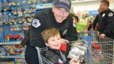 Layton Police: Shop with a cop, Santa Claus appearance