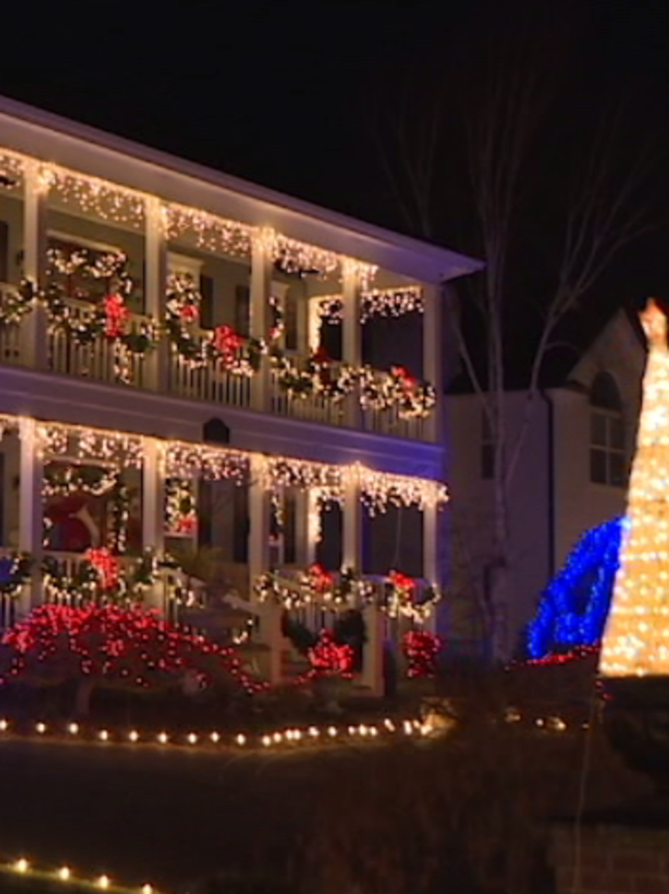 Greystone Court residents light up the