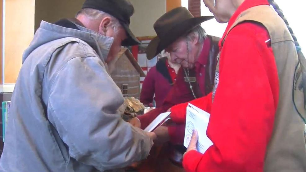 Official\' Pony Express Christmas cards carried for mail distribution ...