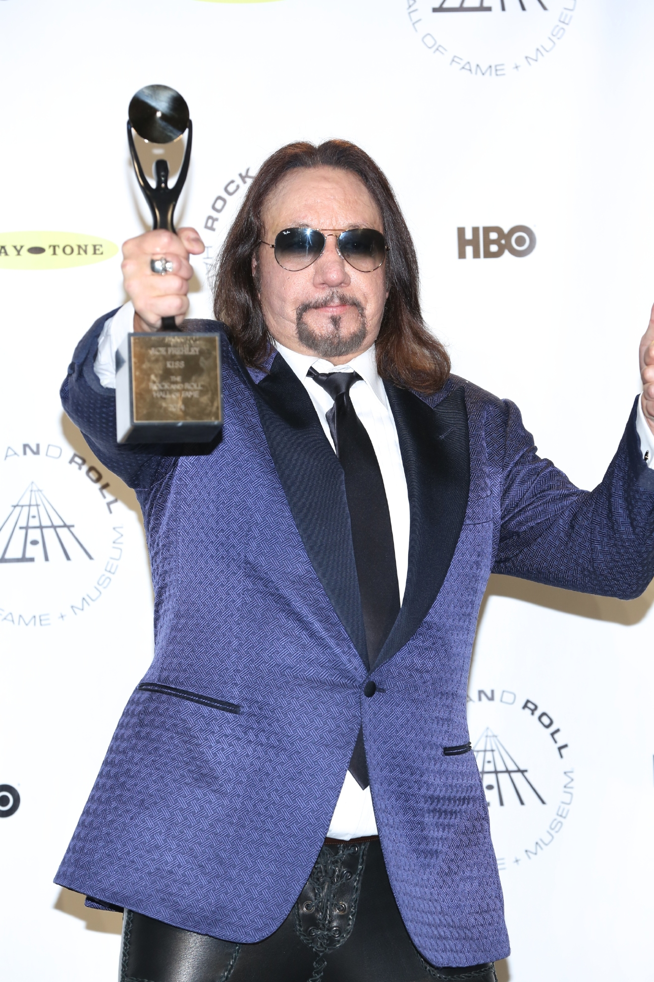 29th Annual Rock And Roll Hall Of Fame Induction Ceremony at Barclays Center of Brooklyn  Featuring: Ace Frehley Where: New York, New York, United States When: 10 Apr 2014 Credit: Andres Otero/WENN.com