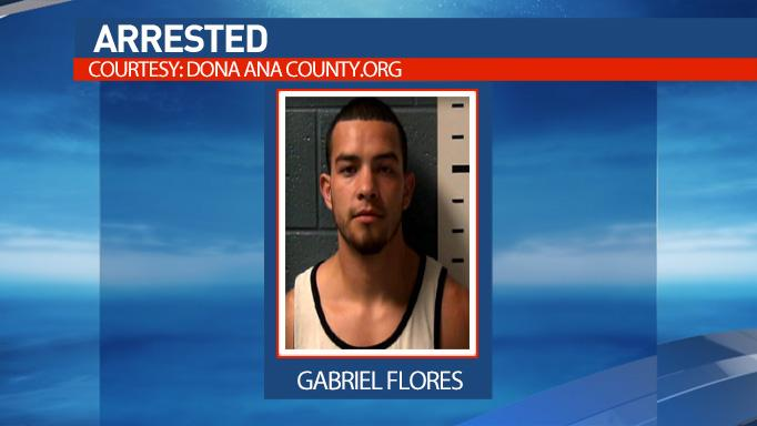 Gabriel Flores was arrested after authorities say he and two others tried to smuggle six undocumented immigrants out of El Paso to Phoenix.