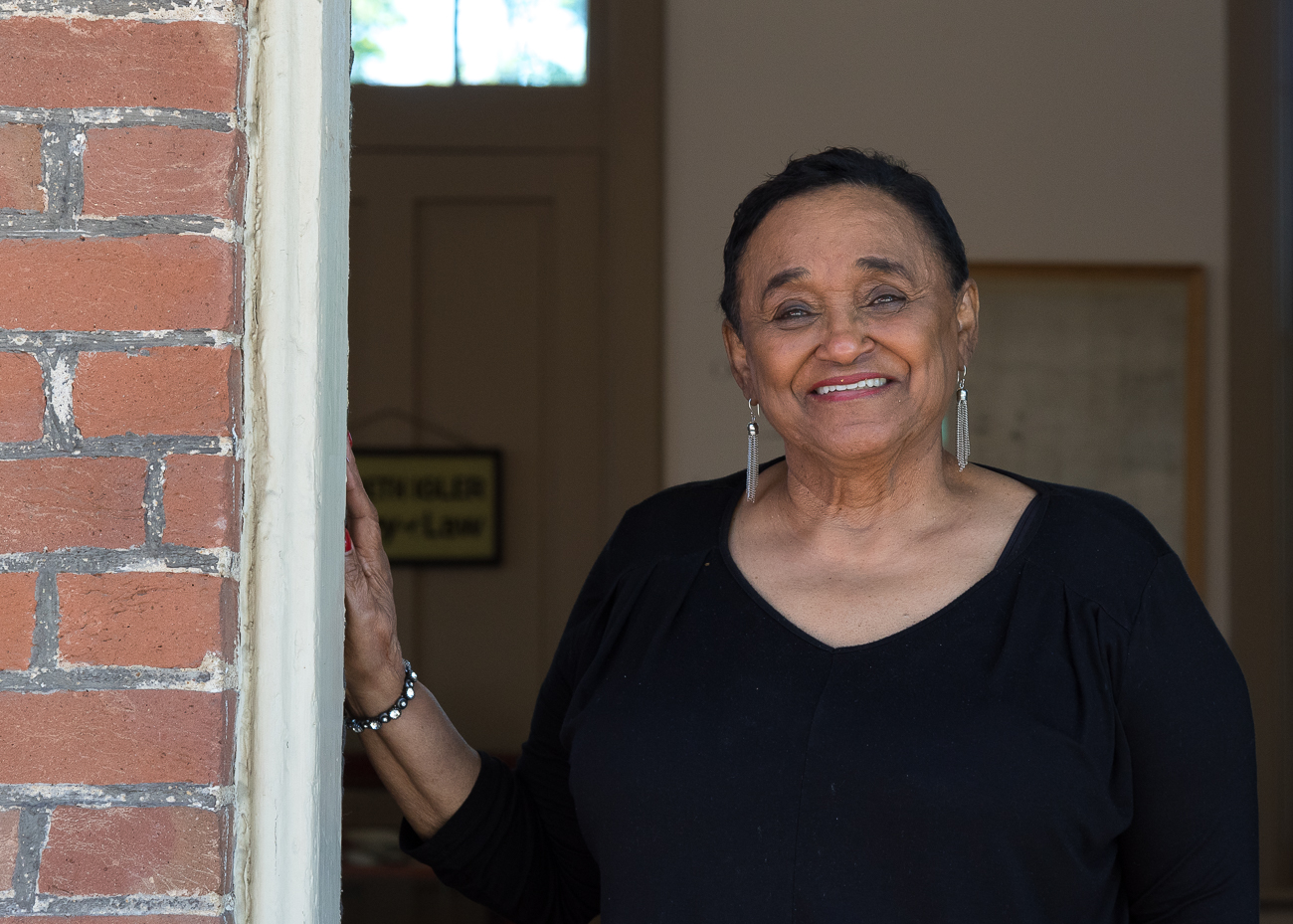 Nancy Floyd, former Vice Mayor of Glendale, is one of the volunteers who runs the museum. / Image: Phil Armstrong, Cincinnati Refined // Published: 7.9.18