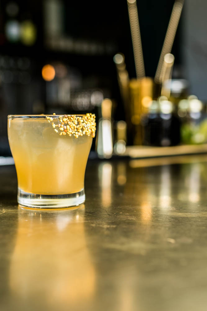 The Boomtown Gold Rush: Bulleit bourbon, fresh lemon juice, and herbed honey / Image: Amy Elisabeth Spasoff // Published: 4.2.18