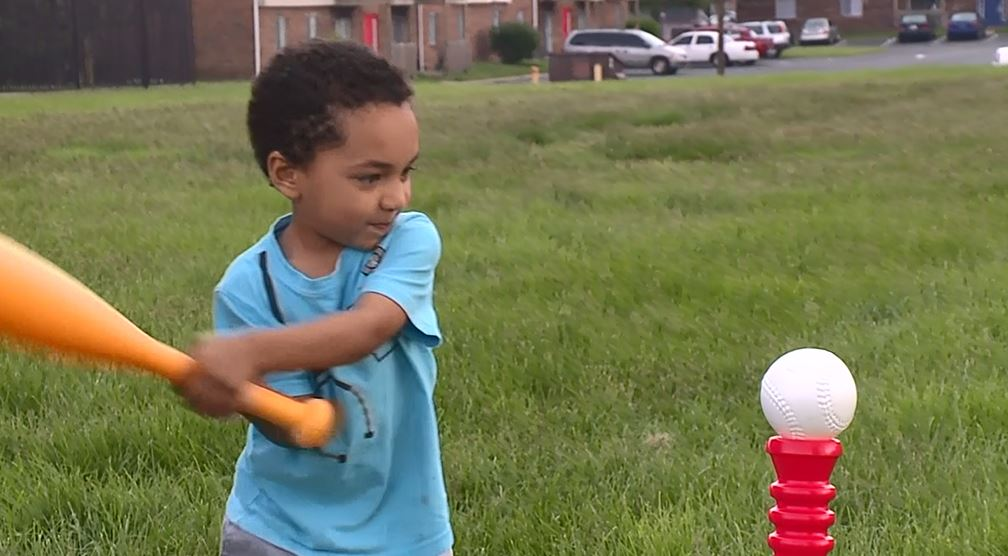 An Indianapolis man says he shouldn't have been ticketed for using a plastic bat to protect his 4-year-old son from an aggressive Canada goose. (WXIN via CNN Newsource)