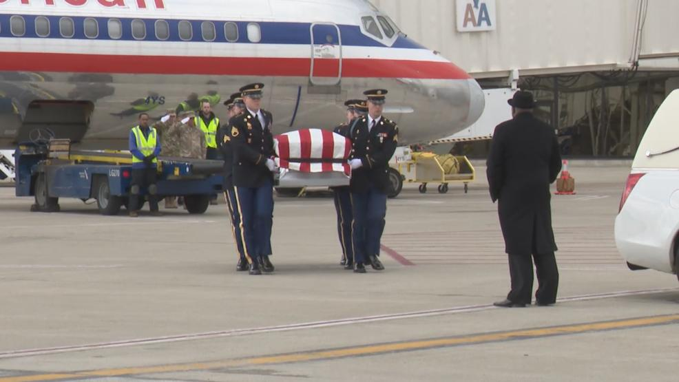 At John Glenn International Airport family and friends gathered.It was a hero's homecoming, nearly 70 years overdue. (WSYX/WTTE)