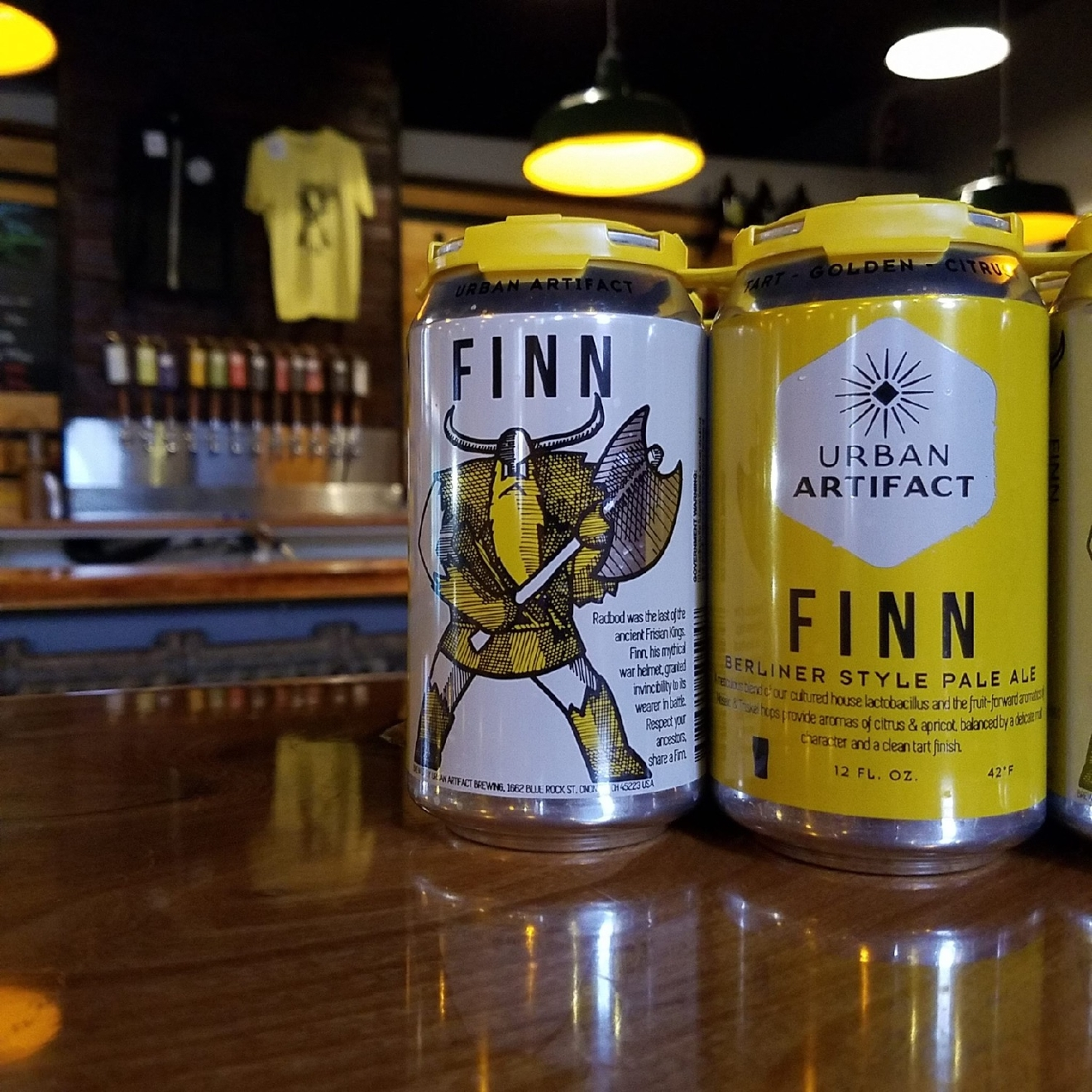 FINN by Urban Artifact / Pucker up! This sour beer is wild, funky, tart, and mouthwatering. / Image courtesy of Urban Artifact // Published: 1.10.17