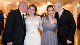 Bride gives up father-daughter dance for bridesmaid and her terminally ill dad