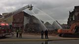 Fire and cleaning crews remain after massive fire in downtown LaGrange