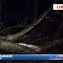 Possible tornado damages homes and property in Middle Tennessee