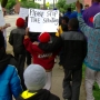 Youth march for peace held in the West End