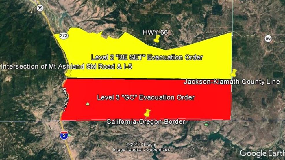 Klamathon Fire Latest Evacuations Orders Ktvl