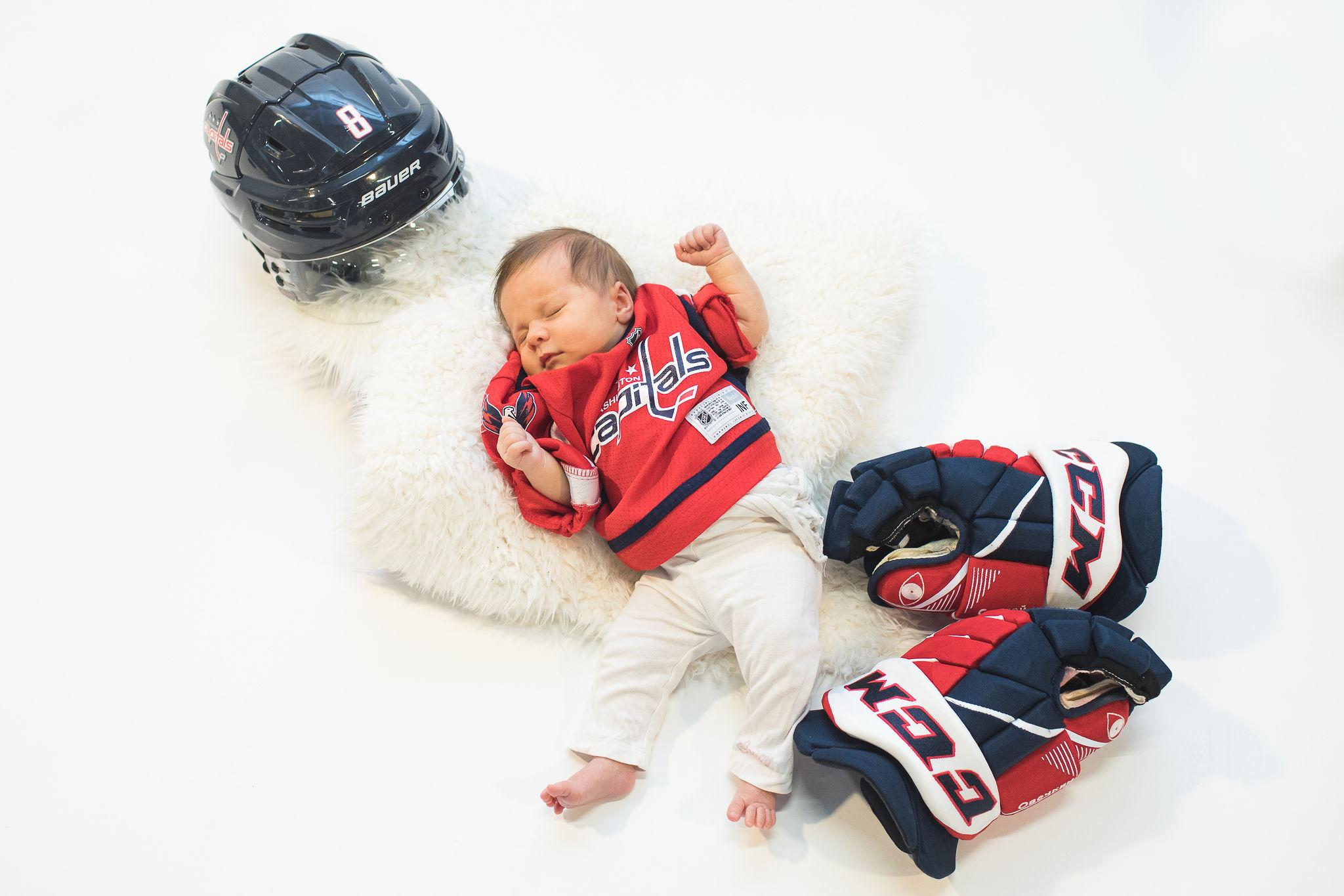 Baby Alexis (Courtesy of Capitals)