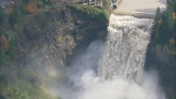 Photos: Up-close look at raging Snoqualmie Falls